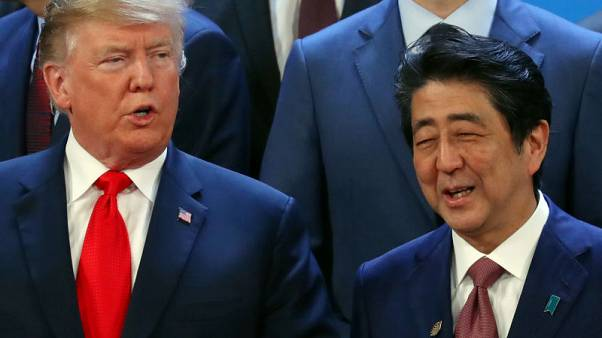 Japan's Abe expected to visit Trump at the White House