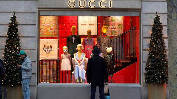 Gucci growth helps Kering beat first quarter sales forecasts