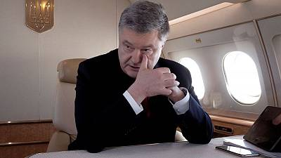Ukrainian leader's re-election drive to win the army vote stutters
