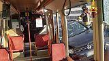 Venezia,auto contro tram, traffico tilt