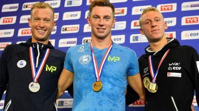 Natation: Aubry et Joly qualifiés pour les Mondiaux-2019 sur 1500 m