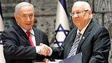 الرئيس الإسرائيلي يكلف نتنياهو بتشكيل حكومة جديدة