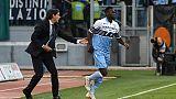 Calcio: Lazio batte Udinese 2-0