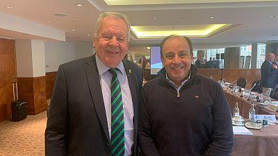 L'avenir du rugby en Afrique a été discuté lors d'une réunion de présidents à Londres
