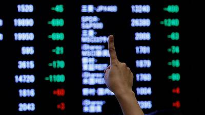 Asian shares edge up to nine-month high, European, Japan PMIs awaited
