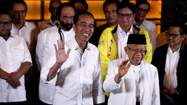 Indonesian 'quick counts' underline Widodo poll win, markets rally