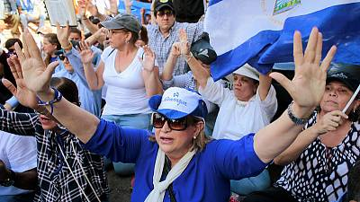 Dozens of Nicaraguans arrested in anti-government march -opposition