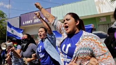Nicaragua: l'opposition défie l'interdiction de manifester et Trump met la pression