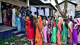 أعمال عنف متفرقة تشوب المرحلة الثانية من الانتخابات العامة في الهند