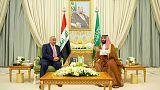 Iraqi PM Abdul Mahdi met Saudi crown prince in Riyadh