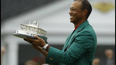 Golf: Woods tra i 100 più influenti 2019