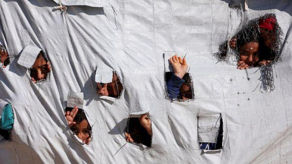 Several thousand foreign children languish in Syria camp - U.N.