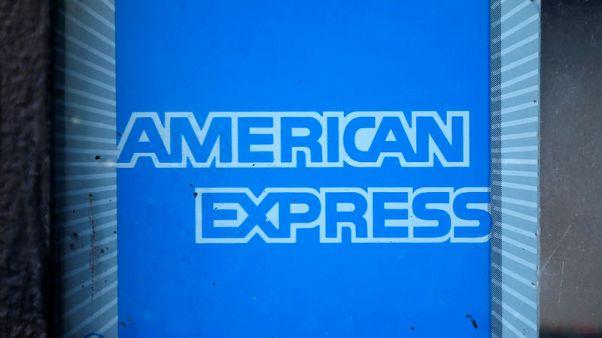 AmEx first-quarter profit falls five percent