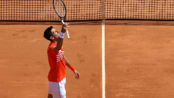 Masters 1000 de Monte-Carlo: Djokovic passe en quarts sans briller