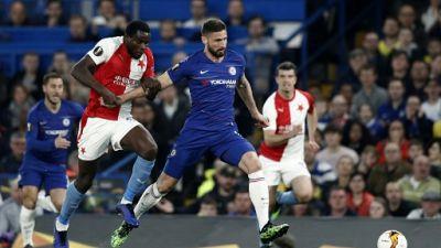 Ligue Europa: Chelsea se qualifie sans convaincre pour les demi-finales