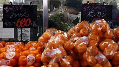 Japan inflation edges higher but BOJ still in a bind