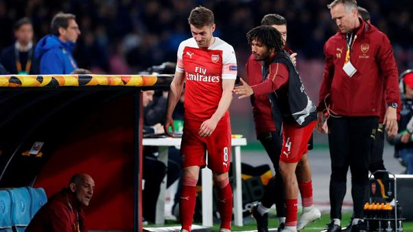 Soccer - Emery unsure if injured Ramsey will play for Arsenal again