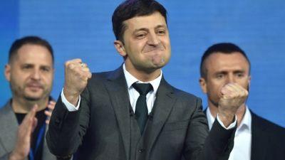 """Ukraine: favori de la présidentielle, le comédien Zelensky promet de """"casser le système"""""""