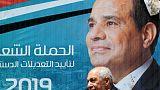 بدء تصويت المصريين بالخارج على تعديلات دستورية تمدد حكم السيسي