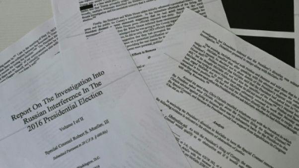 Le rapport Mueller, rendu public le 18 avril 2019