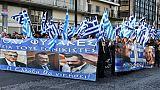 Quatre ans de procès pour Aube dorée, le parti d'extrême-droite grec