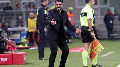 Milan: Gattuso, non si decide Champions