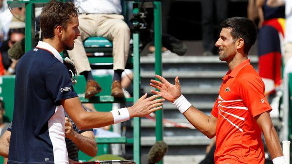 Djokovic falls to Medvedev in Monte Carlo quarters