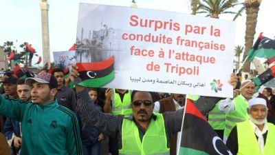 En Libye, des gilets jaunes pour dénoncer l'offensive d'Haftar et la France