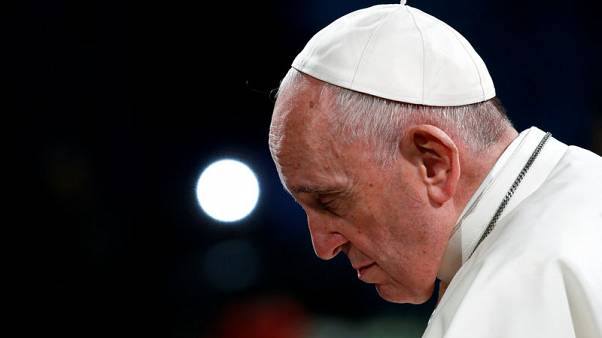 On Good Friday, Pope hears harrowing stories of human trafficking