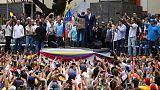 """جوايدو يدعو لتنظيم """"أكبر مسيرة في التاريخ"""" في فنزويلا لخلع مادورو"""