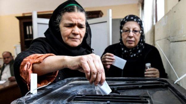Référendum sans suspense en Egypte pour consolider le pouvoir de Sissi