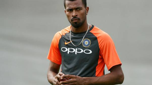 Cricket - India's Pandya, Rahul fined by ombudsman for talk-show comments