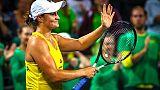 Demi-finale de Fed Cup: l'Australie et le Belarus à égalité après la première journée