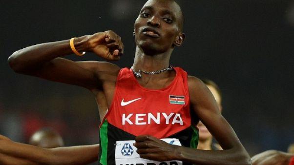 Athlétisme: le Kényan Kiprop suspendu 4 ans pour dopage