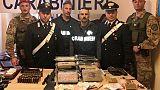 Cc sequestrano 21 kg cocaina a Catania