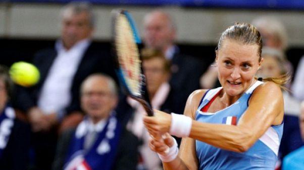 Fed Cup: les Bleues menées d'entrée face à la Roumanie