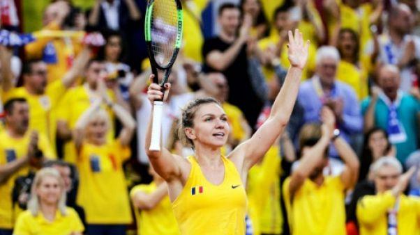 Fed Cup: la Roumanie prend le premier point face à la France