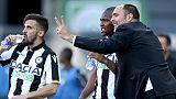 "Udinese: Tudor, ""un punto d'oro"""