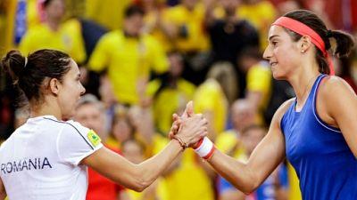 Fed Cup: les Bleues dos à dos avec la Roumanie