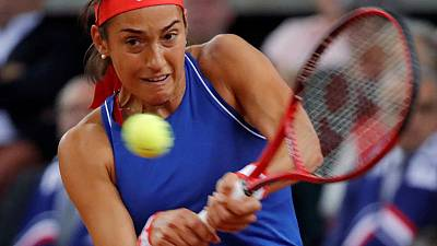 France and Romania level at 1-1 in Fed Cup semi