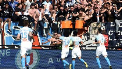 L1: Marseille bat Guingamp 3-1 et revient à cinq points du podium