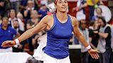 Fed Cup: Espoir intact pour les Bleues