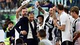 Juventus win eighth Serie A title in a row