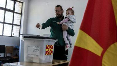 Présidentielle en Macédoine du nord: faible participation, second tour indécis