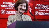 مصحح-تعادل مرشح مؤيد للغرب ومرشحة قومية بالجولة الأولى من انتخابات مقدونيا الشمالية