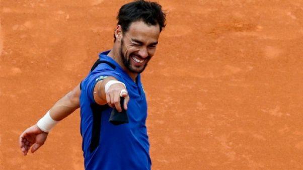 ATP: le théâtral Fognini triomphe sur la scène de Monte-Carlo