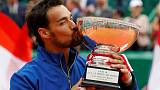 Fognini lands maiden Masters title in Monte Carlo