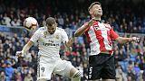R.Madrid: tripletta Benzema, Athletic ko