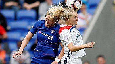 Lyon beat Chelsea but semi-final tie still open