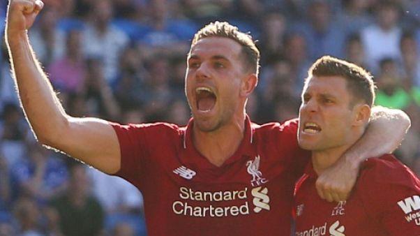 Angleterre: Liverpool en patron, Manchester United en carton